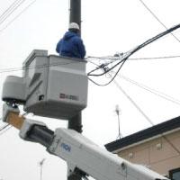 テレビ電波障害対策工事